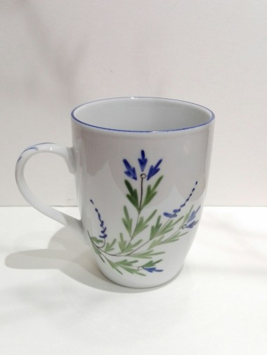 Mug décor Barbeau