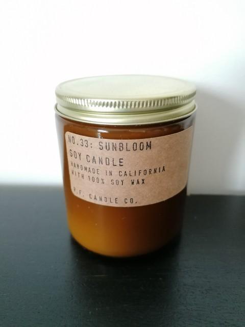 """Bougie """"Black Fig"""" de P.F. Candle CO."""