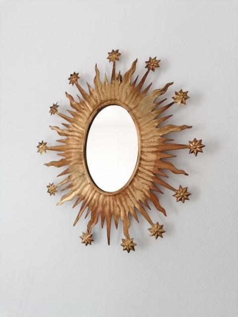 Miroir Céleste gold