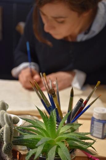 Aline Gineste AG Création Bayeux Artisan d'Art