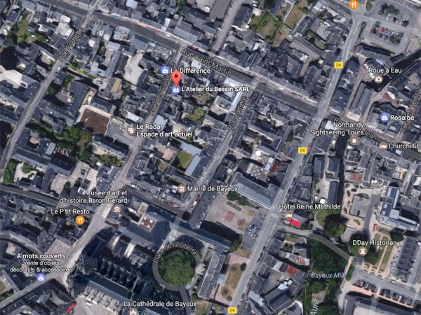 Cliquez pour accéder à un plan de Bayeux